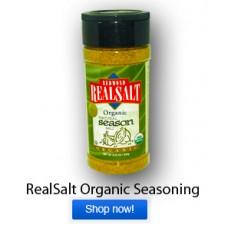 Real Salt Organic Seasoning Salt (8.25 oz) ONLY ONE LEFT